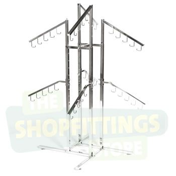2 Tier Bag Display Stand