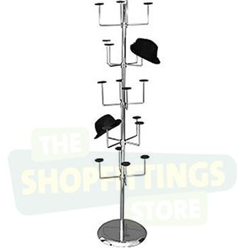 5 Tier Hat Display Stand
